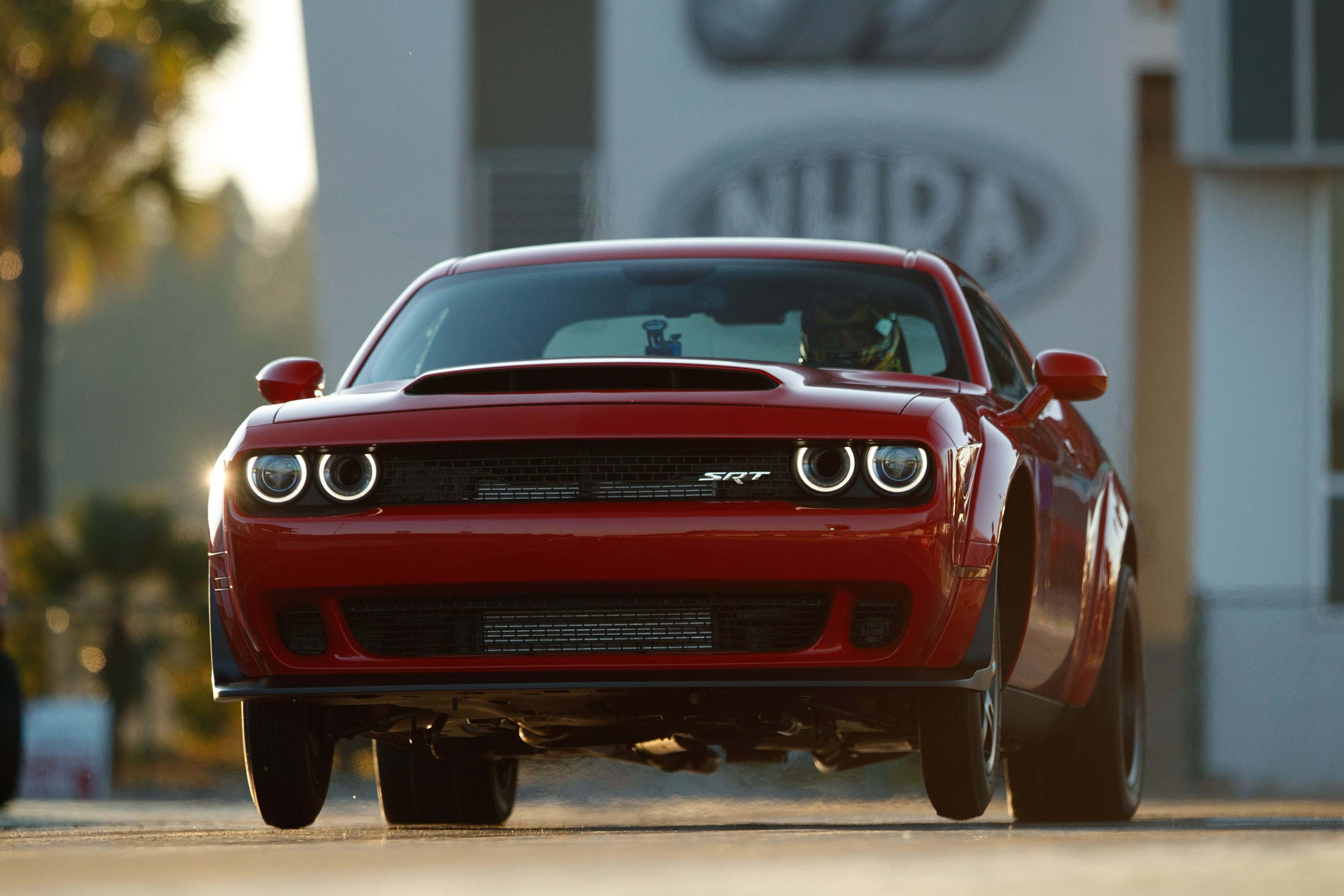 Dodge Challenger SRT Demon Is So Powerful It Can Lift