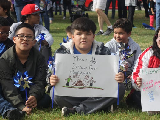 Child Abuse March