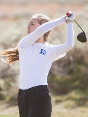Region 9 girls golf competes at Sand Hollow Thursday,