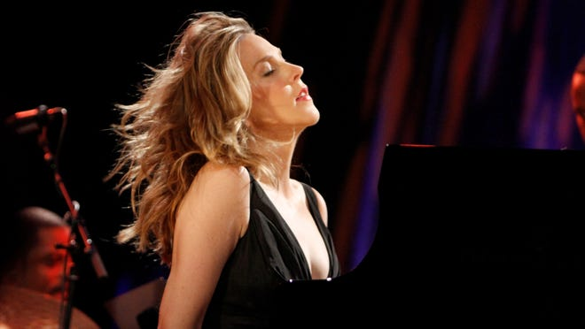 Diana Krall, who plays two shows at this year's jazz fest, covers much-loved ballads of the 1970s and '80s on her latest album, Wallflower.