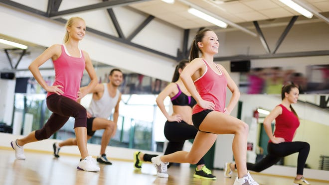 Sweat-filled group workouts like Jazzercise and step aerobics are poised to come back into favor.