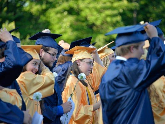 JEFFERSON TOWNSHIP HIGH SCHOOL GRADUATION 2016