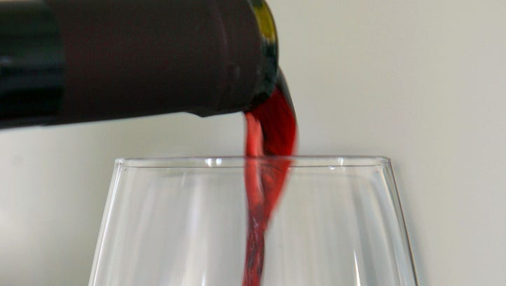 A small glass of wine each day could increase breast