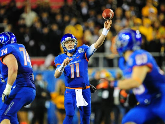 Chris Petersen helped turn Kellen Moore into a star
