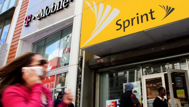 Mobile companies T-Mobile and Sprint will not merge.