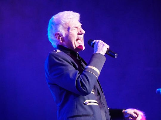 Former lead vocalist for Styx Dennis DeYoung celebrated