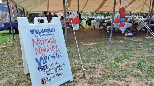 National Night Out events are scheduled throughout the Golden Strip on Aug. 2.