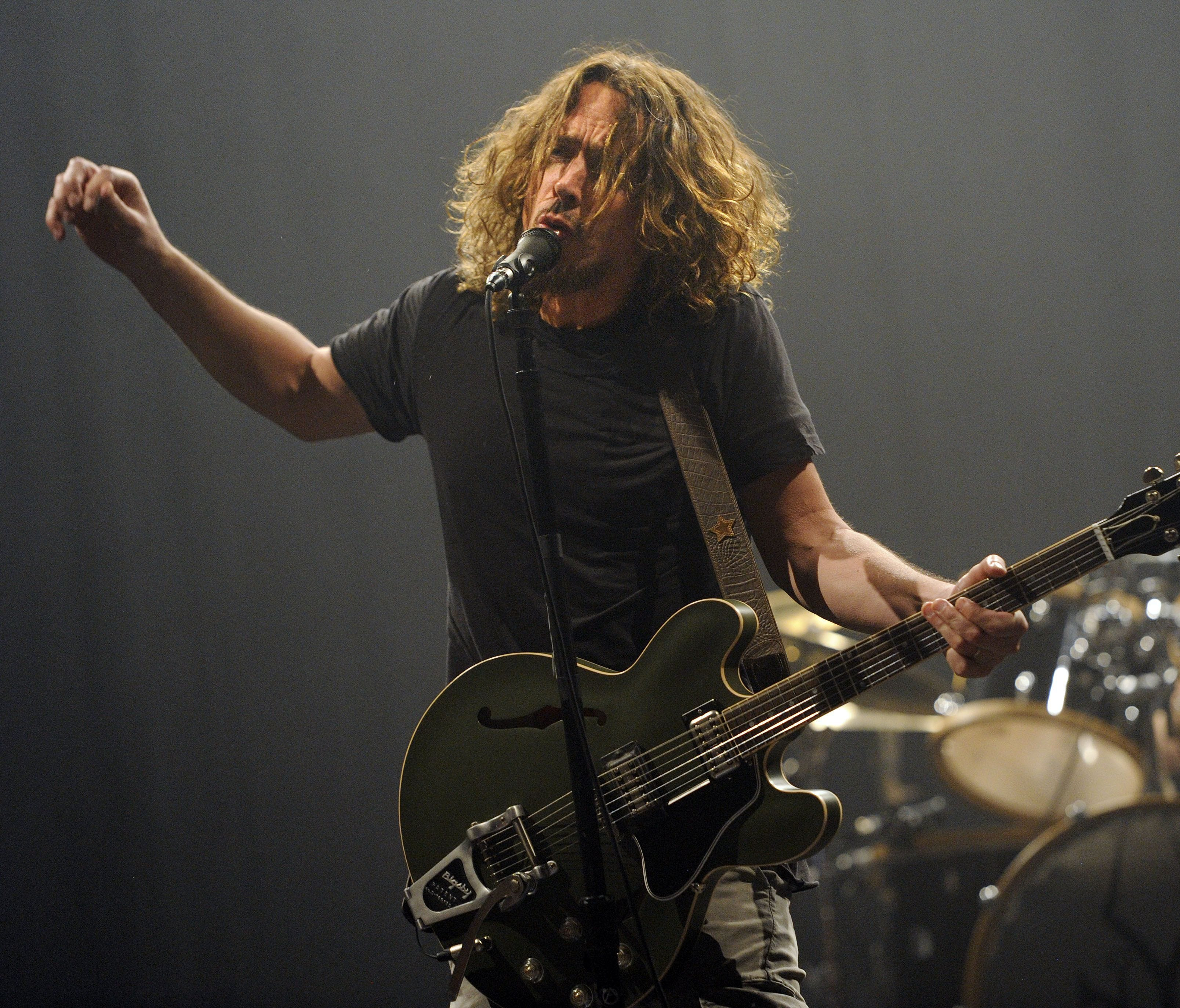 Cornell, seen here during a 2013 concert with Soundgarden, appeared out of sorts during his final show in Detroit Wednesday.