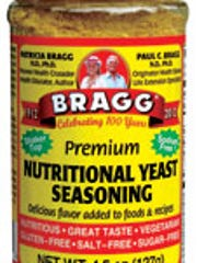 Bragg Nutritional Yeast adds a cheesy taste to popcorn, salads or kale chips