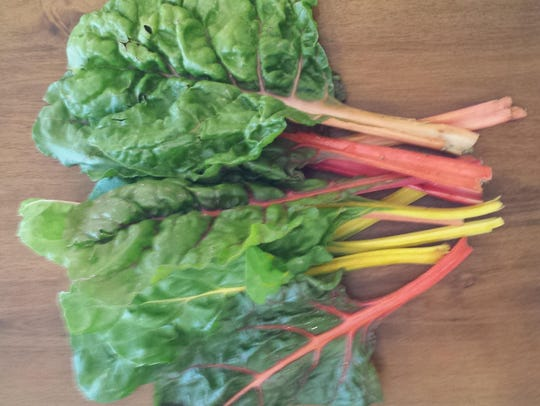 Rainbow chard adds color and nutrients to any dish.