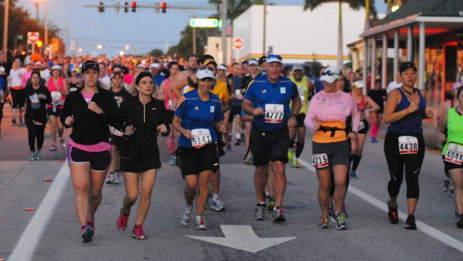 The 2014 Space Coast Marathon and Half-Marathon were held in chilly, but ideal conditions for a long-distance run.