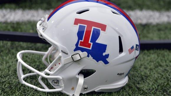Louisiana Tech Bulldogs helmet