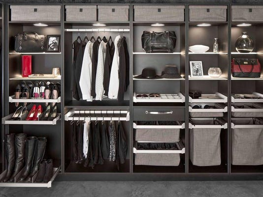 Your closet organization should be able to grow as your collectiom grows. Co