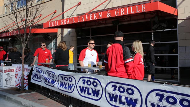 Holy Grail opens at 8:30 a.m. with live broadcasts from 700 WLW all day.
