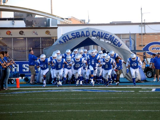 Carlsbad takes the field for Friday's home opener against