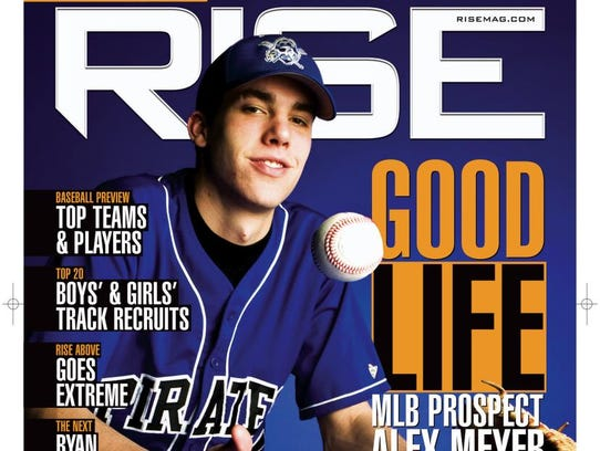 Meyer on magazine Cover in HS