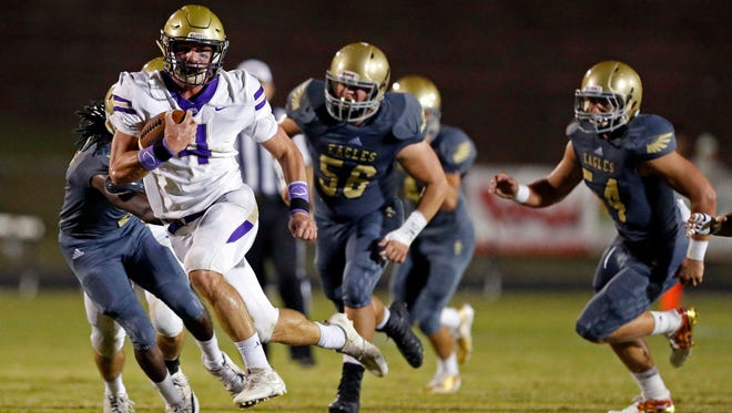 CPA running back and linebacker Kane Patterson
