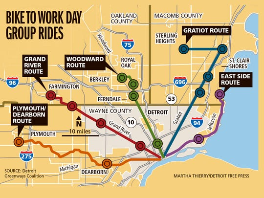 Bike to Work Day group rides