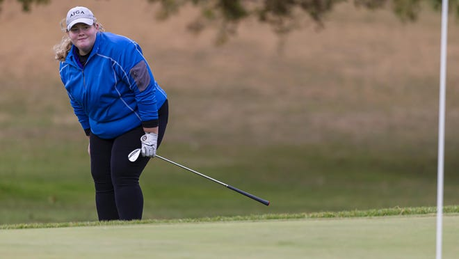 Williamsville High School's Faith Davis is The State Journal-Register's Small School Girls Golfer of the Year. [JUSTIN L. FOWLER/THE STATE JOURNAL-REGISTER]
