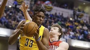 Myles Turner moves back into the starting lineup as the Pacers attempt to tie the playoff series with Toronto.