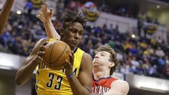 Myles Turner moves back into the starting lineup as