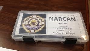 Narcan, the antidote used by police and EMTs to reverse the effects of heroin and opioid prescription drugs