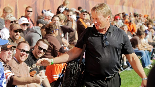 Jon Gruden will speak to four area teams including a feature on La Salle for Monday Night Football this weekend.