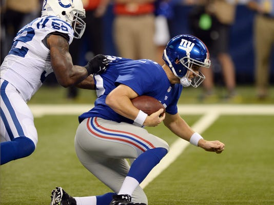 Giants Colts Football