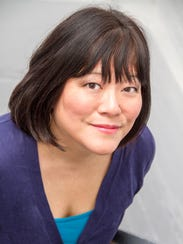 "Ann Harada plays Clelia in Larry Shue's ""The Nerd"""