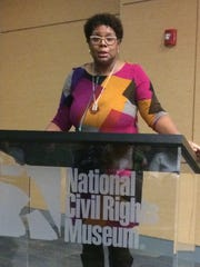 Terri Lee Freeman, executive director of the National Civil Rights Museum