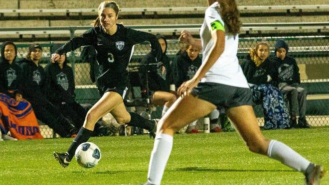 Bartram Trail's Olivia Glass scored the Bears' game-winning goal last week against Spruce Creek.