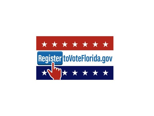 Online voter registration.