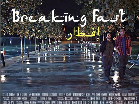 """Tommy Berklund is a co-star of the short film """"Breaking"""