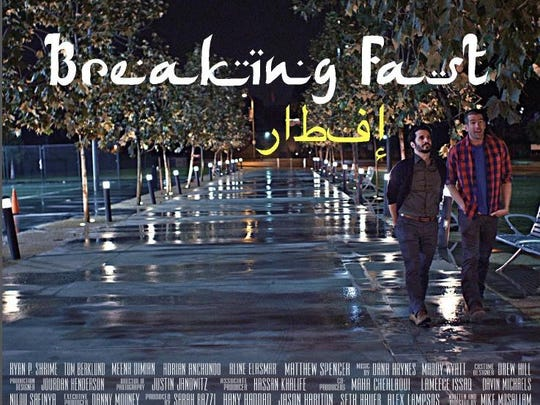 """Tommy Berklund is a co-star of the short film """"Breaking Fast."""""""