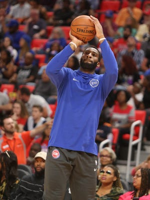 Detroit Pistons center Andre Drummond has shown off a greatly improved free-throw shooting stroke in exhibition games this year, going 16-for-20 from the foul line in three games.