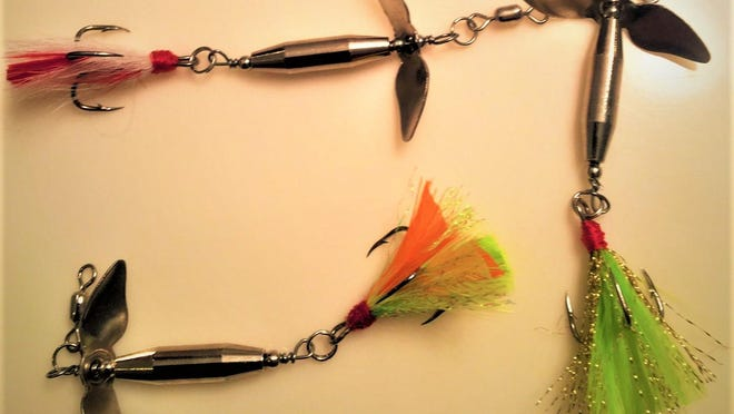 The Swirleybird Spinner is an unique addition to your tackle box.