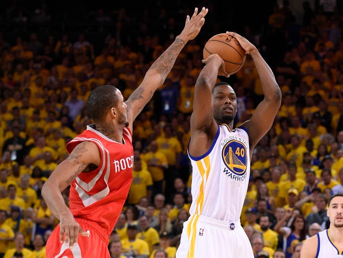 Ames High alum Harrison Barnes and the Golden State