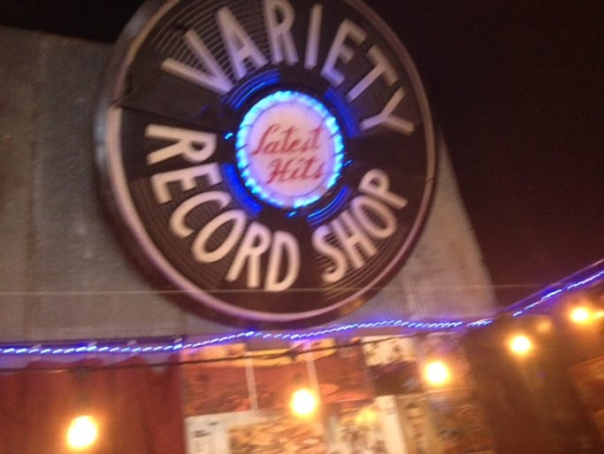 A day trip to Columbia can be a bargain hunter's dream. Variety Record Shop, which sells used vinyl as well as new music, is one of the great shops on the Columbia Square.