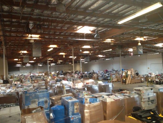 Mesa warehouse auction