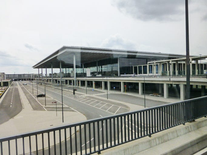 Under construction since 2006, Berlin's much-needed new airport was designed to serve 27 million passengers, with an initial opening target date of November 2011.
