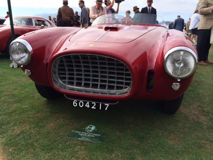 A 1952 Ferrari is nicknamed 'La Nina Bonita'
