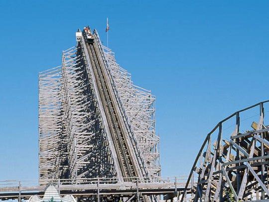 Shivering Timber, at Michigan's Adventure Amusement Park.