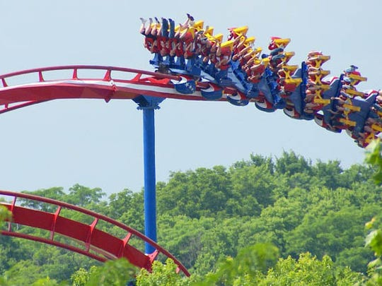 The Patriot, at Worlds of Fun in Missouri.