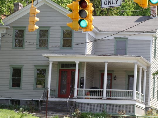 This home at 603 E. State St. in Ithaca was recognized with a Preservation Award from Historic Ithaca.