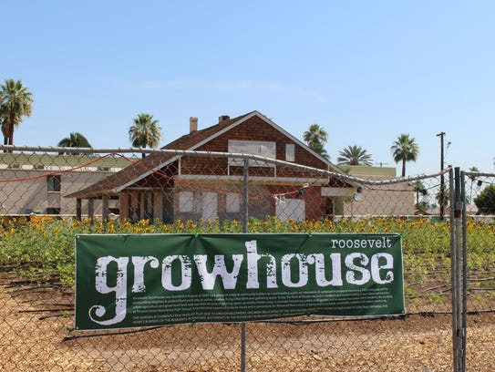 The fourth annual farm-to-table community dinner takes place outdoors at Growhouse Saturday, April 28.