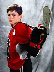 Liam Hussey, Ravenwood hockey player