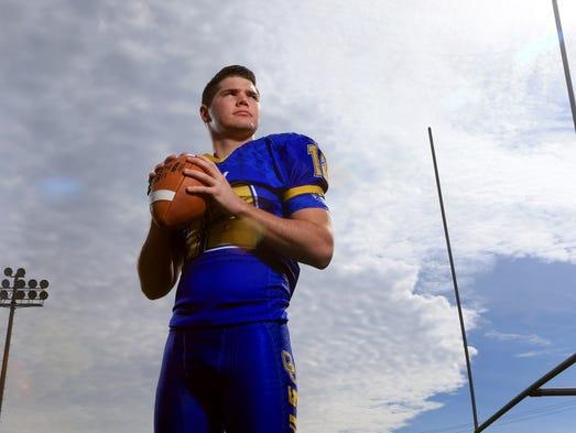 All-South Texas Football MVP Michael Everett from Odem
