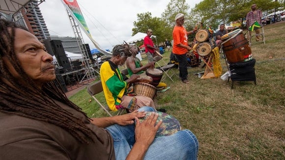 The 21st annual Peoples Festival in tribute to Bob Marley will open with a drum circle on Saturday in Wilmington.