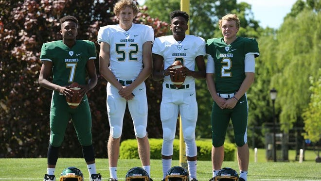 Christ School's Drew Johnson (2) passed for more than 2,700 yards last fall.