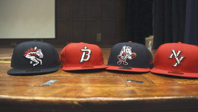 The new Rumble Ponies hats.